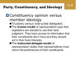 party constituency and ideology1