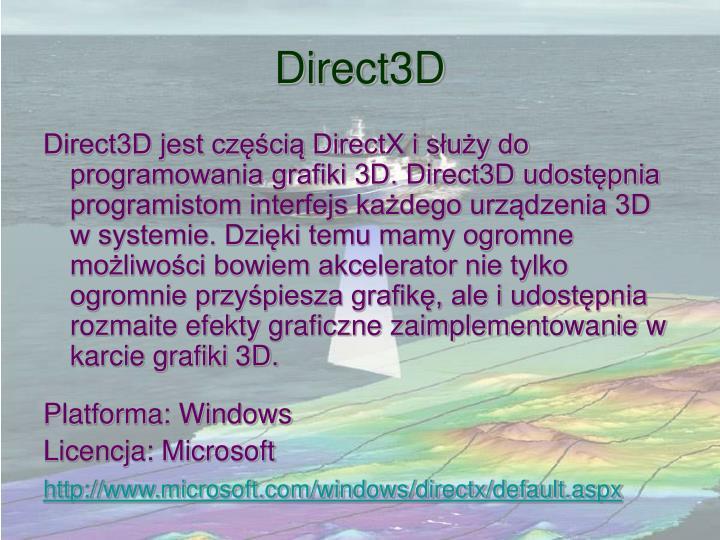 Direct3D