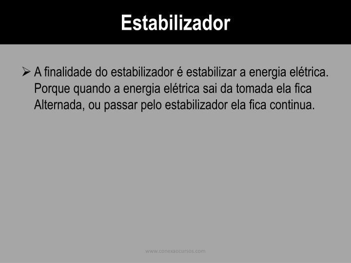 Estabilizador