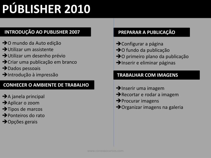 PÚBLISHER 2010