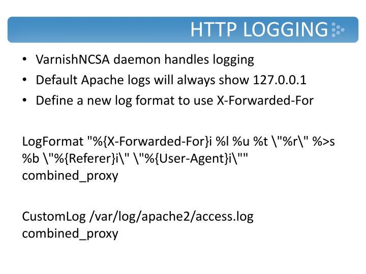 HTTP Logging