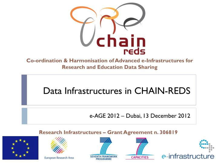 data infrastructures in chain reds n.