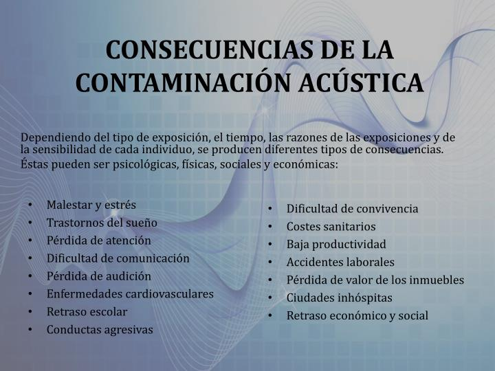 CONSECUENCIAS DE