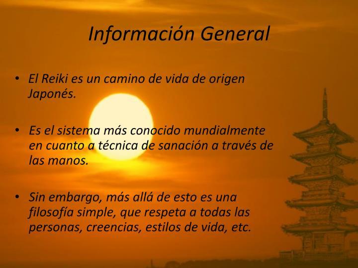 Informaci n general