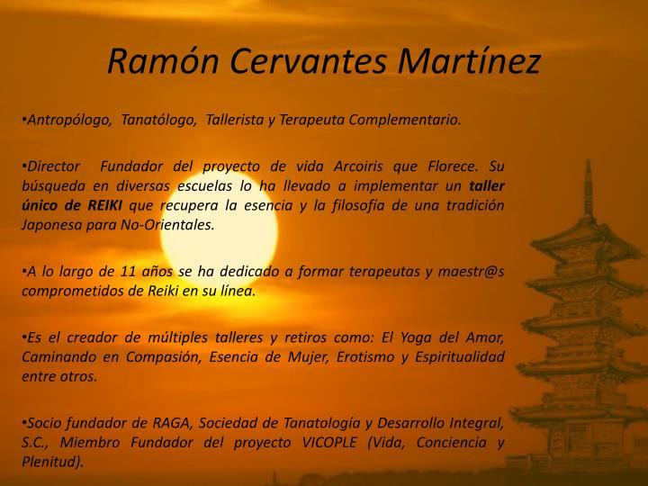 Ramón Cervantes Martínez