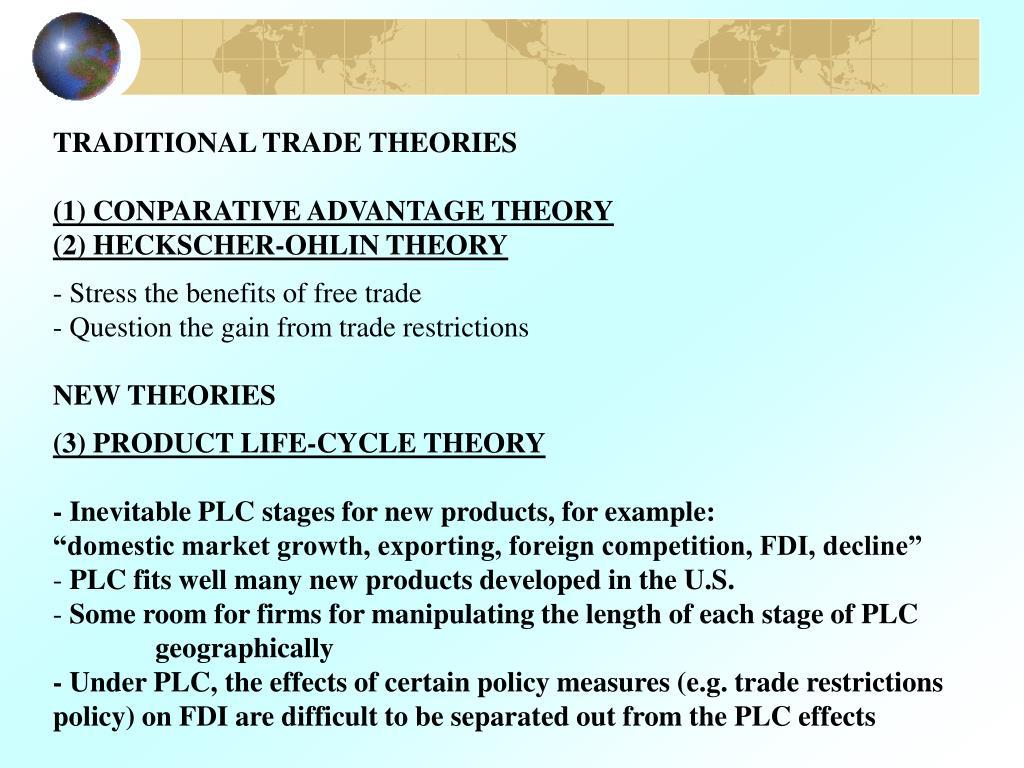 heckscher ohlin theory of international trade