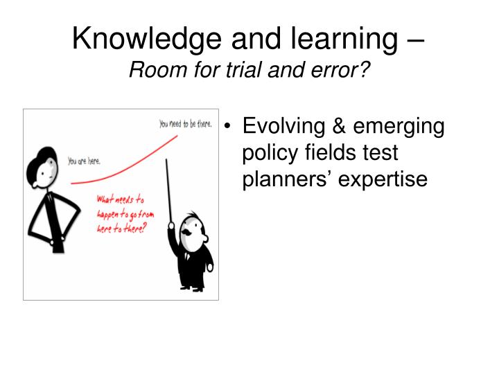 Knowledge and learning –
