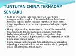 tuntutan china terhadap senkaku