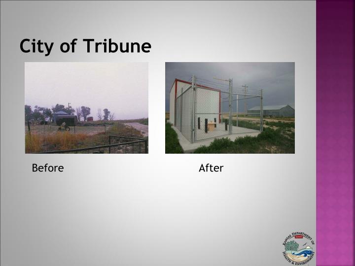 City of Tribune