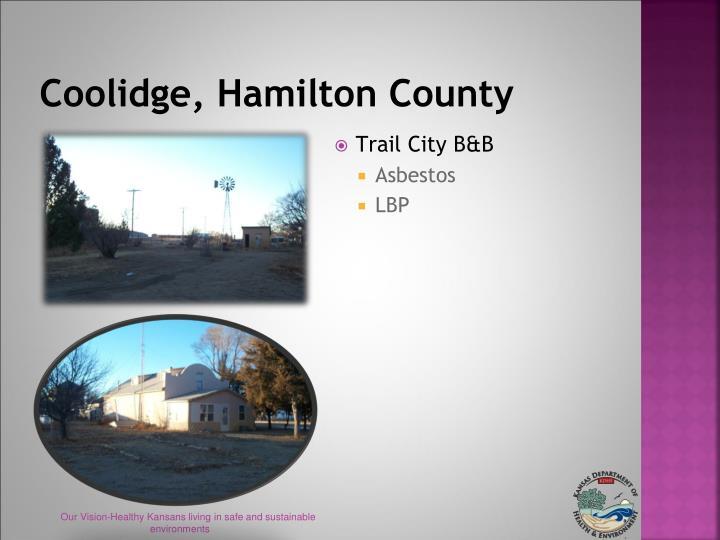 Coolidge, Hamilton County