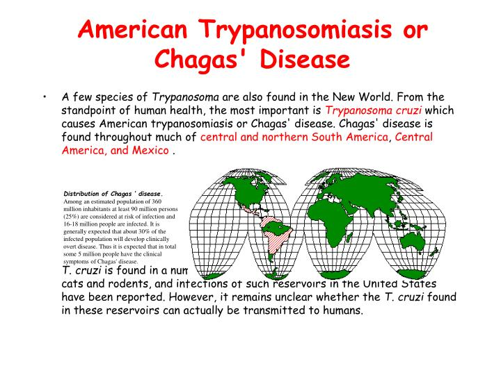 American Trypanosomiasis or Chagas' Disease