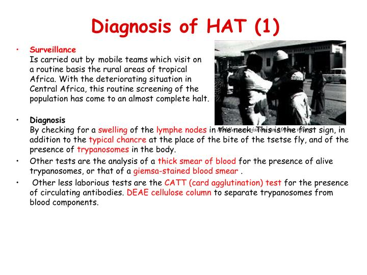 Diagnosis of HAT (1)