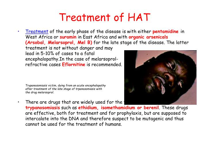 Treatment of HAT