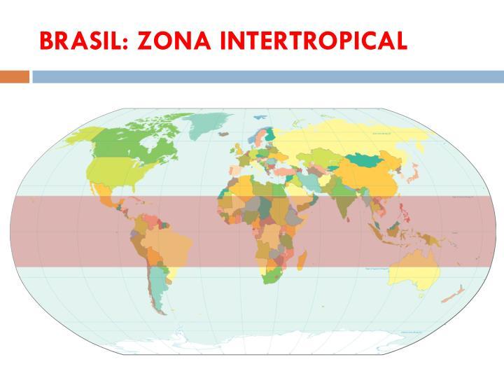 BRASIL: ZONA INTERTROPICAL