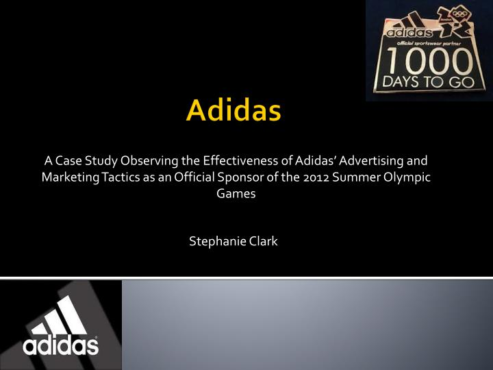 marketing environment of adidas