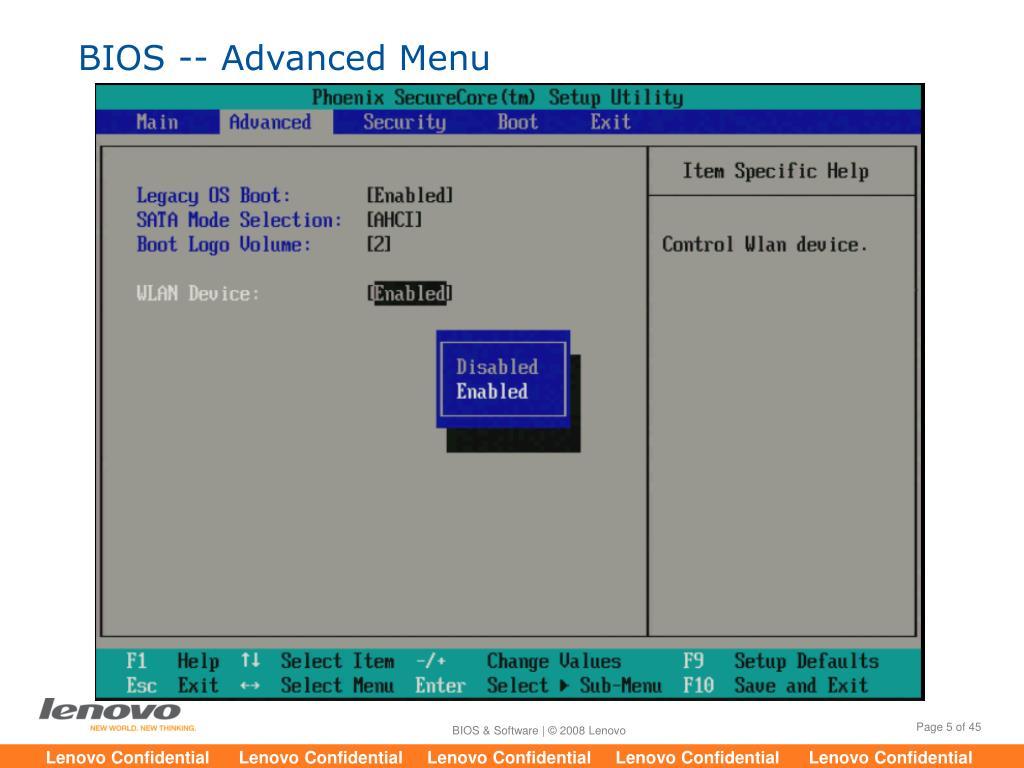 PPT - ideapad U350 BIOS & Software PowerPoint Presentation - ID:6926153
