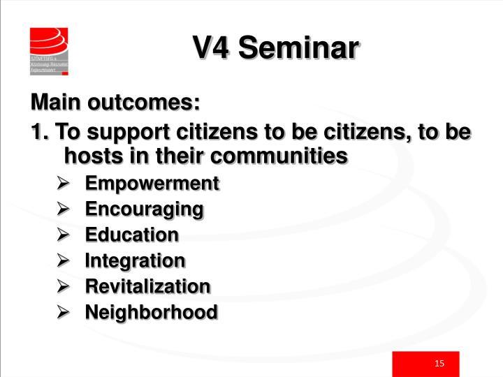 V4 Seminar