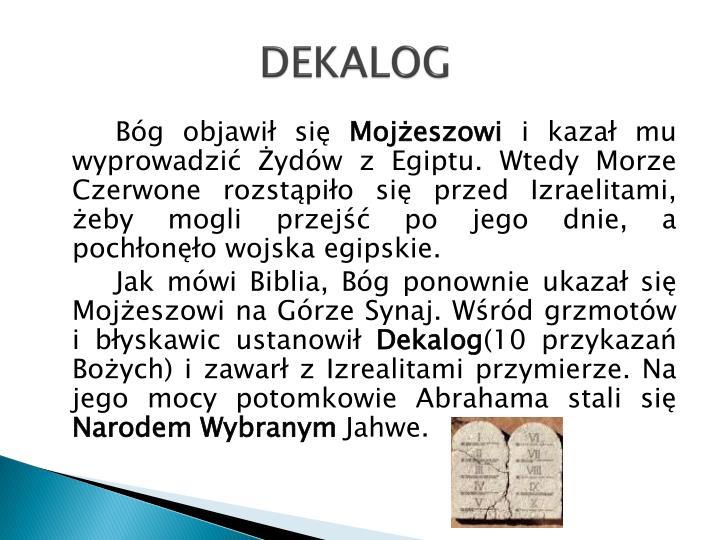 DEKALOG