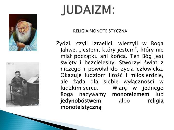 JUDAIZM:
