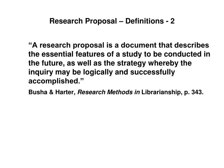 Ppt Writing An Effective Research Proposal Powerpoint Presentation