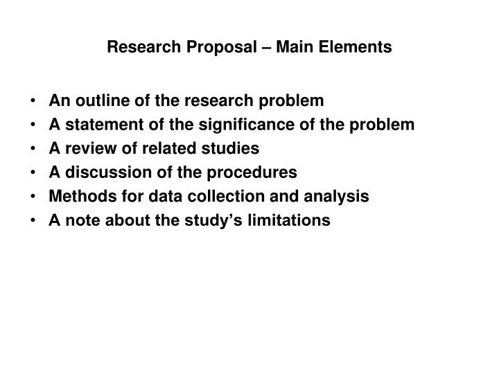 problem statement and significance of the study essay Statement of the problem purpose significance of the study research questions and/or hypotheses chapter ii - background literature review definition of terms.