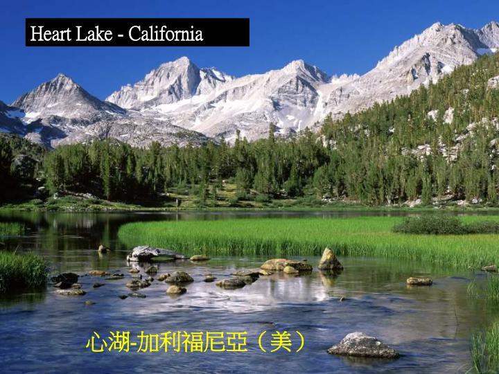 Heart Lake - California