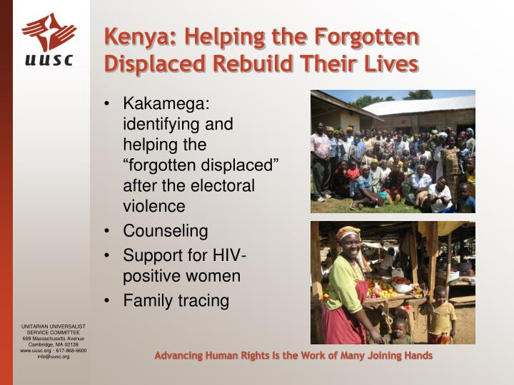 Kenya: Helping the Forgotten Displaced Rebuild Their Lives