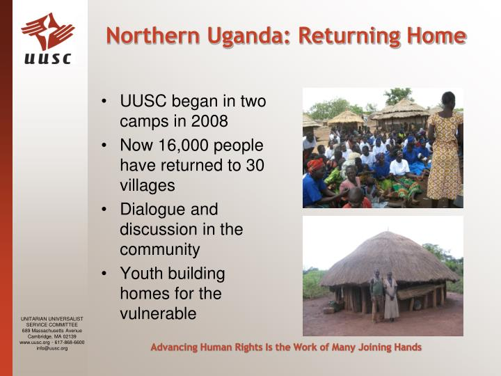 Northern Uganda: Returning Home