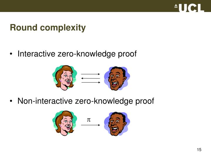 Round complexity