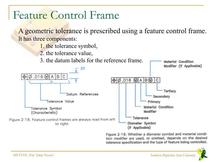 PPT - Geometric Tolerances & Dimensioning PowerPoint Presentation ...