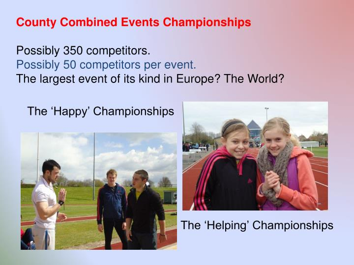County Combined Events Championships