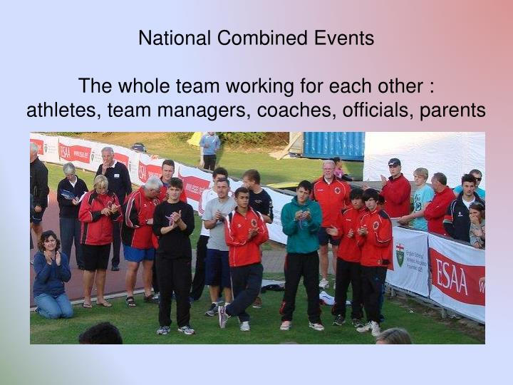 National Combined Events