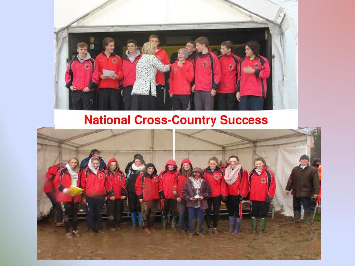 National Cross-Country Success