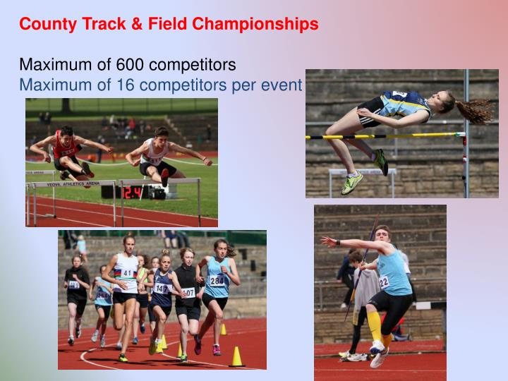 County Track & Field Championships