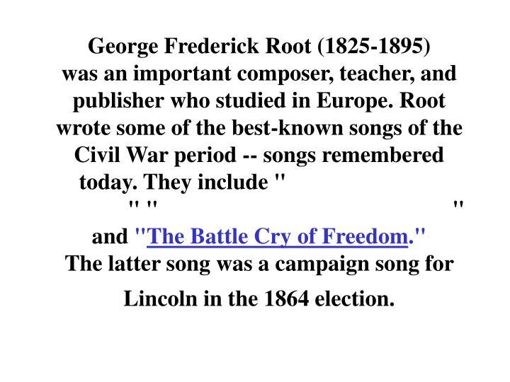 George Frederick Root (1825-1895)
