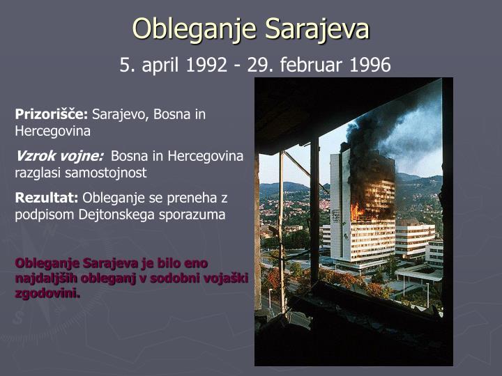 Obleganje Sarajeva