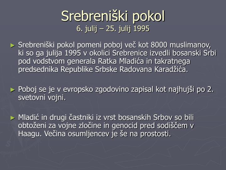 Srebreniški pokol