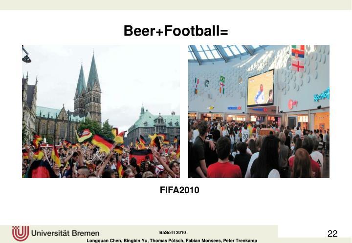 Beer+Football=