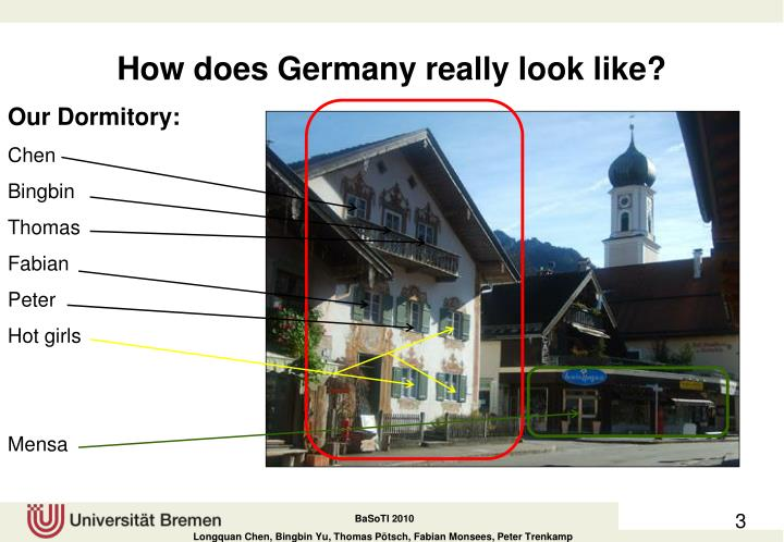 How does germany really look like