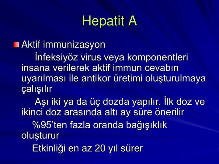 Hepatit A