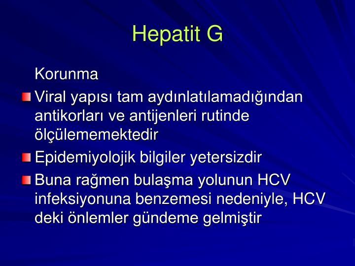 Hepatit G