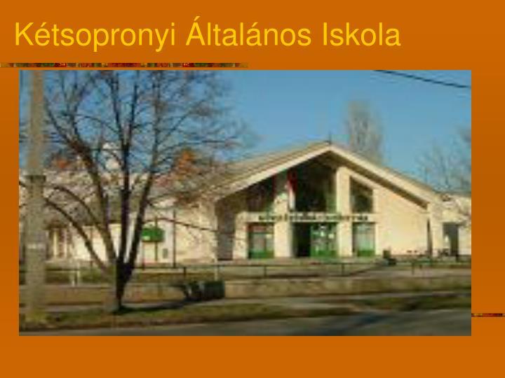 Kétsopronyi Általános Iskola