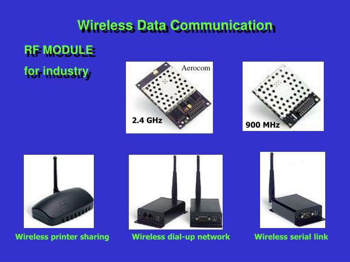 Wireless Data Communication