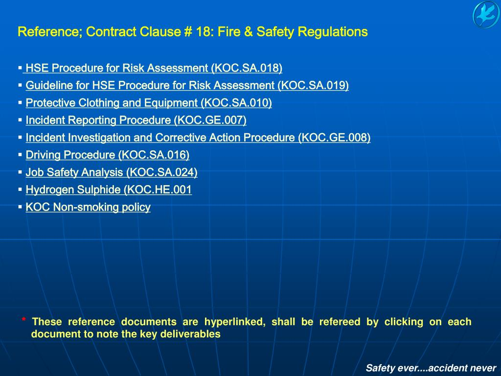PPT - Kuwait Oil Company (K S C ) HSE Group Health Safety