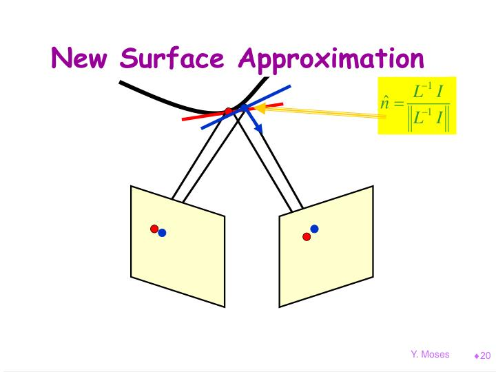 New Surface Approximation