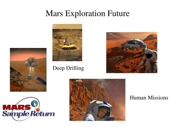 Mars Exploration Future