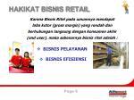 hakikat bisnis retail