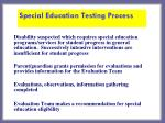 special education testing process