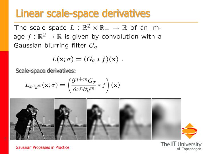 Linear scale-space derivatives