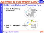 hidden link states and processing flow1